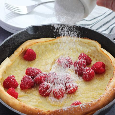 Dutch Baby Pancake Recipe (Puff Pancake)
