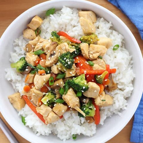 Easy Chicken Stir Fry Recipe- One Pan Dinner!