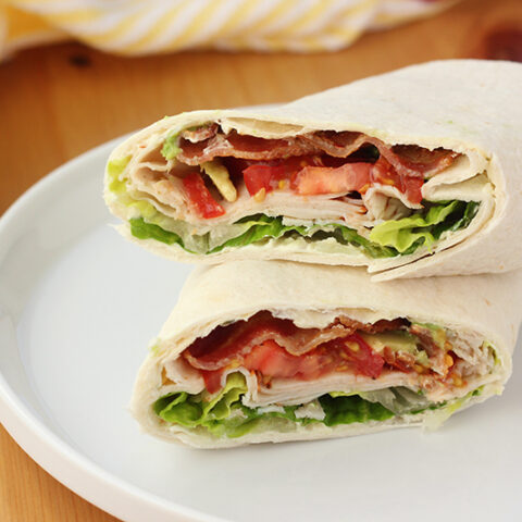 The BEST Turkey Wrap Recipe