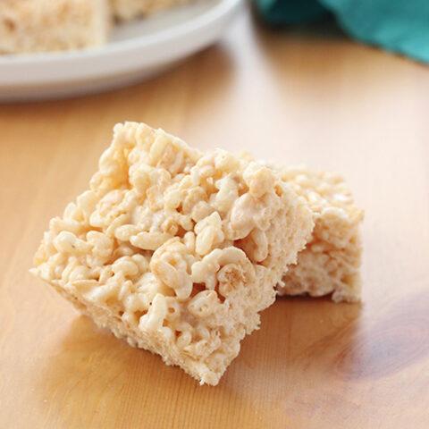 BEST Rice Krispie Treats- Easy recipe!
