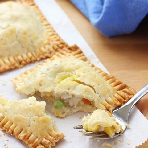 Pot Pie Pockets- Freezer Recipe!