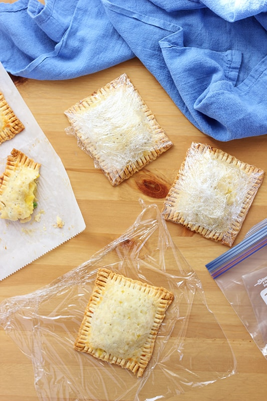 How to freeze homemade hot pockets