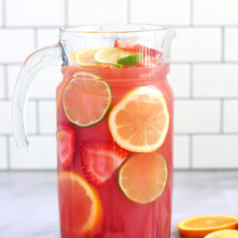 Fruit Punch Recipe (Non-Alcoholic)