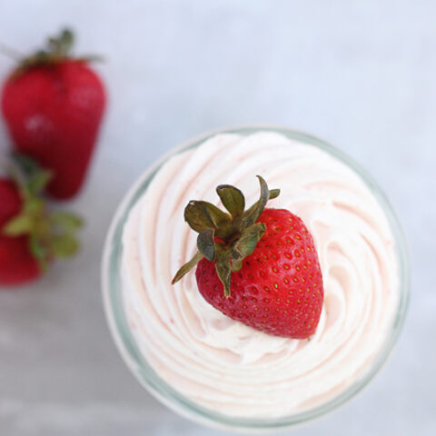 Strawberry Whipped Cream Recipe