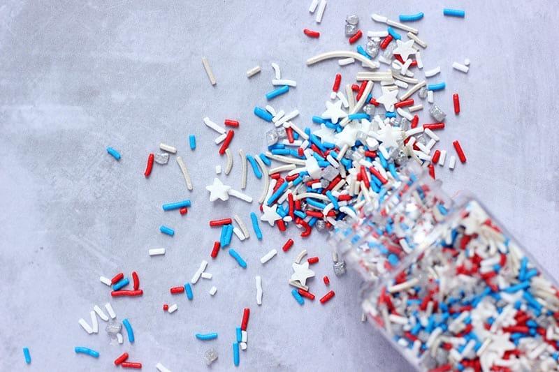 4th of july sprinkles