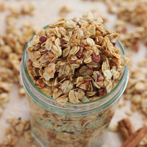 Cinnamon Crunch Granola Recipe