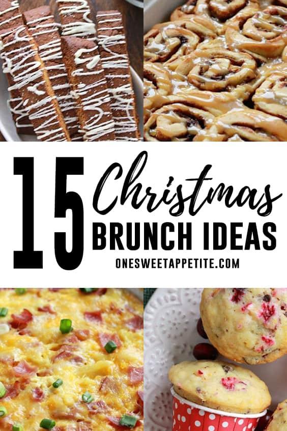 15 Christmas brunch recipe ideas