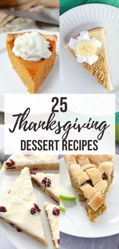 25 Easy Thanksgiving Dessert Recipes