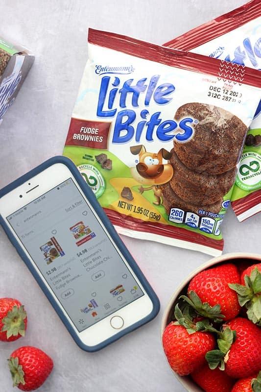 Walmart Grocery App on Iphone