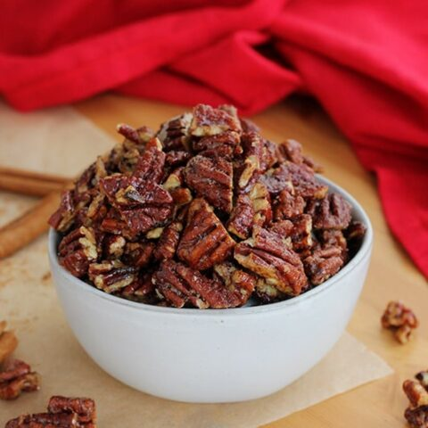 Quick and Simple Candied Pecans