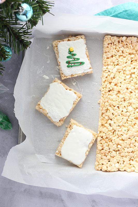 Holiday Rice Krispie Treats