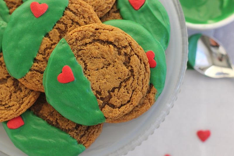 Easy Grinch Decorated Cookies