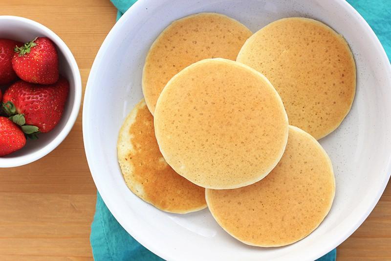 mini pancake recipe