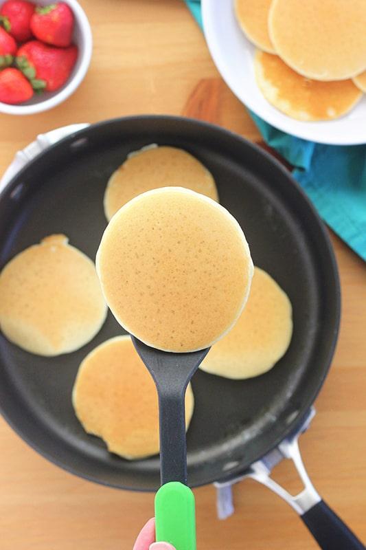 how to make mini pancakes