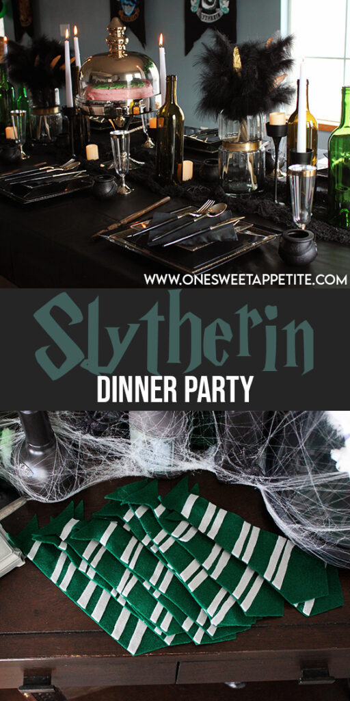 This Slytherin Party takes you straight into the wizarding world! Most of the items are thrifted or DIY with easy to follow tutorials.