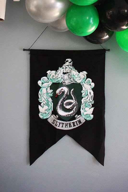 Slytherin House Flag