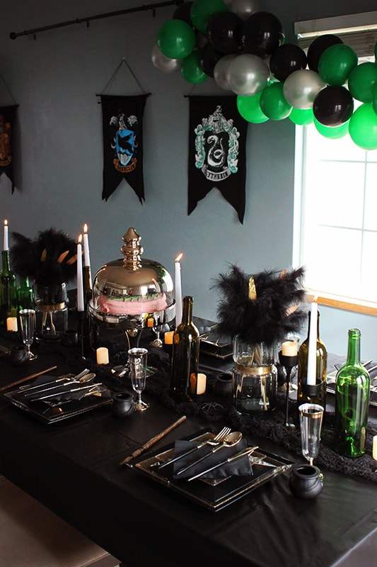 Slytherin Dinner Party Table