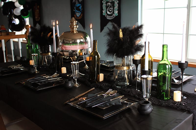 Slytherin Dinner Table
