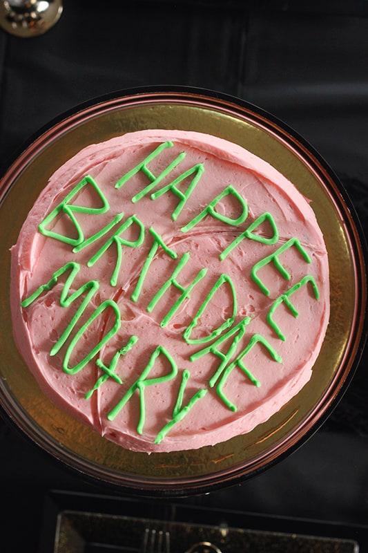 Hagrid Harry Potter Cake