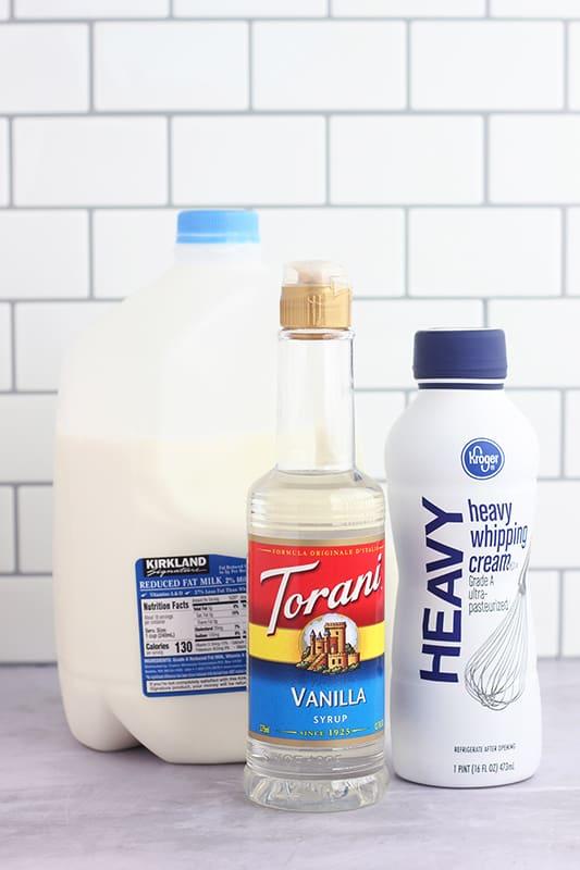 sweet cream cold brew ingredients
