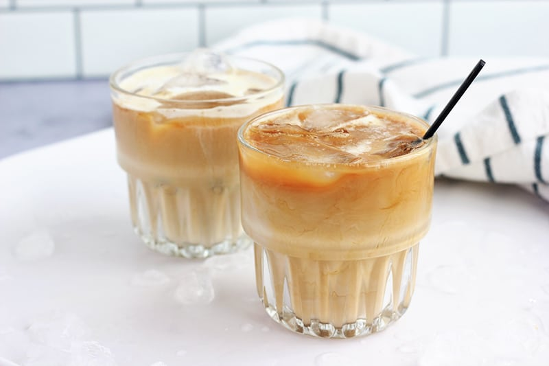 sweet cream cold brew coffee