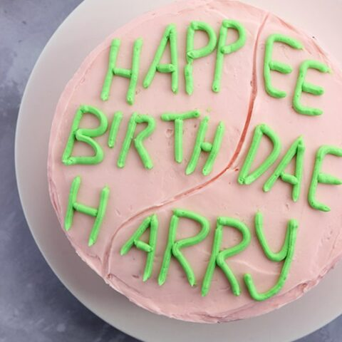 Harry Potter Hagrid Cake Recipe