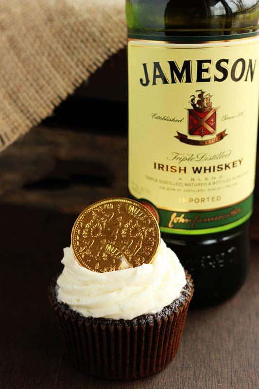 Stout Whiskey Cupcakes recipe
