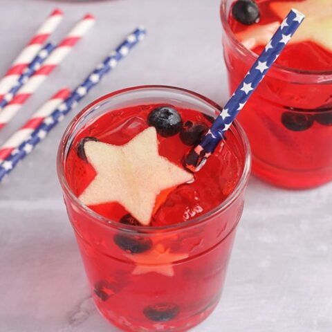 Red, White, and Blue Punch Recipe