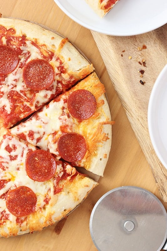 Frozen Pepperoni Pizza