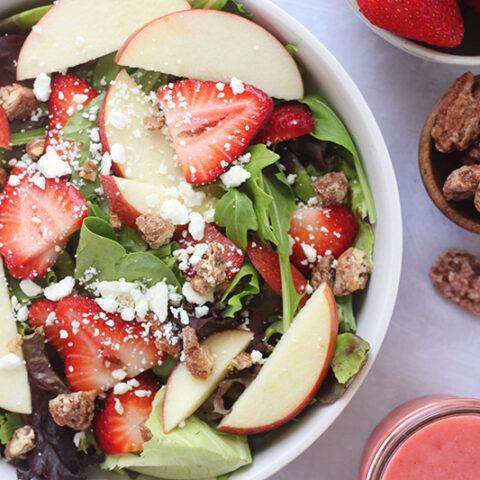 Copycat Zupas Strawberry Harvest Salad